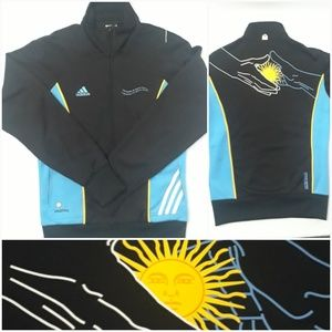 Adidas Soccer Jacket World Cup 2010 Argentina Sz S